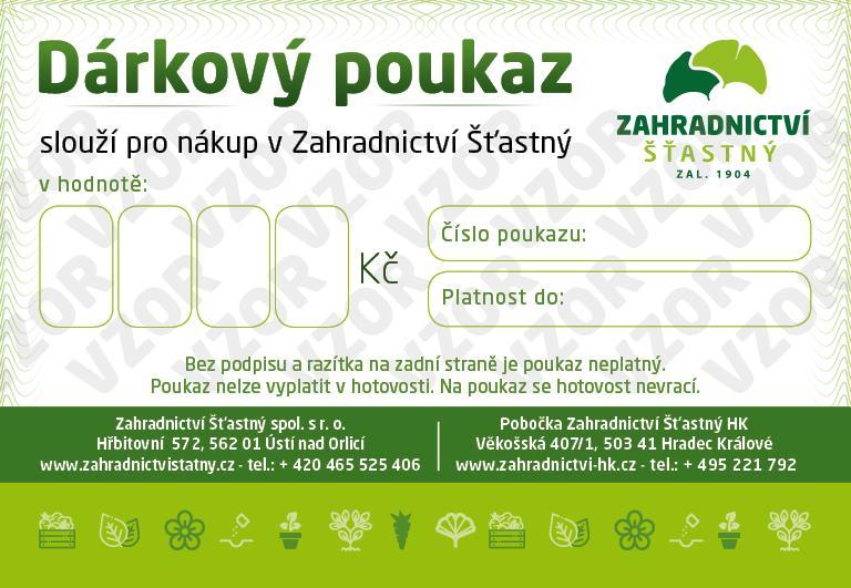 zahradnictví certifikát